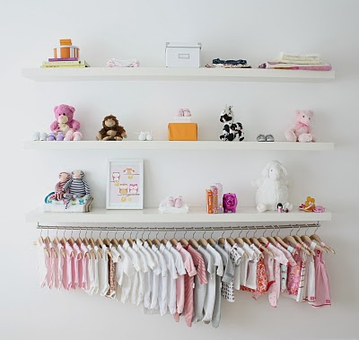 DIY Baby Clothes Rack Tutorials