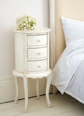 Shabby Chic Side Table Classic Round Side Table A
