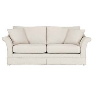 large white sofa