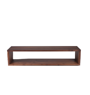 rectangular bench