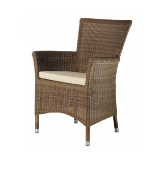 Square Top Rattan Chair