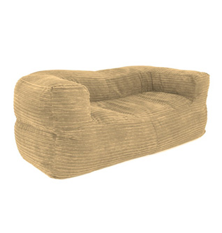 Corduroy Bean Bag Sofa