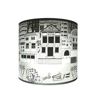 Decorative London Lampshade