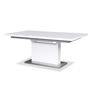 White Dining Table Ext