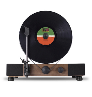 vertical record player
