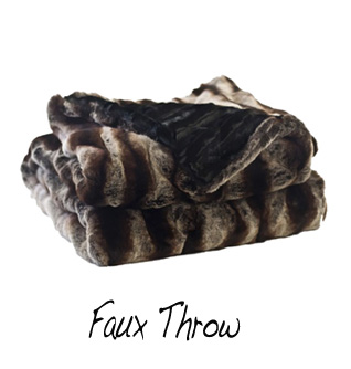 faux throw sm