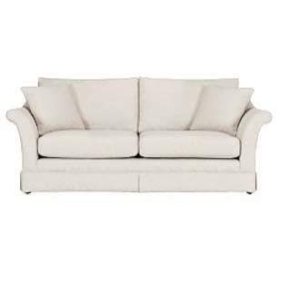 large white sofa