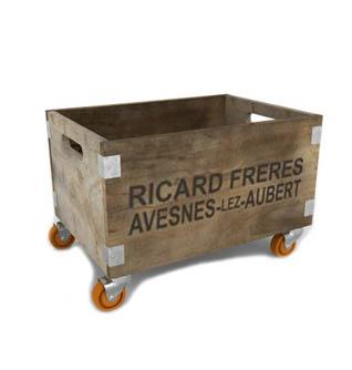 Rustic Box On Wheels
