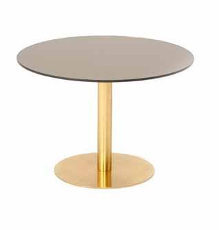 Flash Glass Circle Table