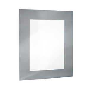 Grey Frame Mirror