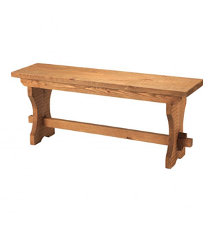 Rough Sawn Bench