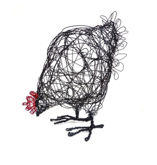 wire hen