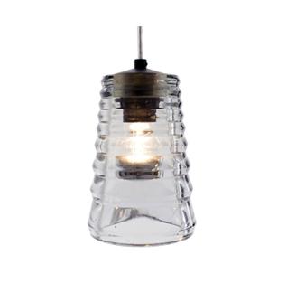 Pressed Glass Light
