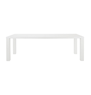 White Dining Table Ext 2