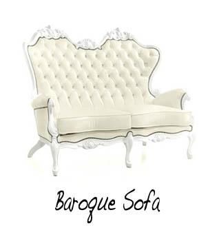 Baroque Sofa sm